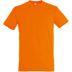 Vêtements Homme T-shirts manches courtes Sols 11380 Orange vif