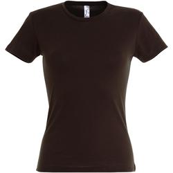 Vêtements Femme T-shirts manches courtes Sols Miss Chocolat