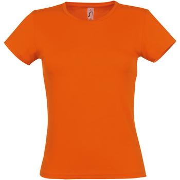Vêtements Femme T-shirts manches courtes Sols Miss Orange