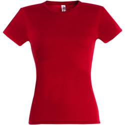Vêtements Femme T-shirts manches courtes Sols Miss Rouge