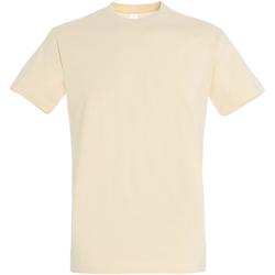 Vêtements Homme T-shirts manches courtes Sols 11500 Beige