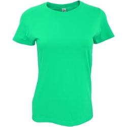 Vêtements Femme T-shirts manches courtes Sols Imperial Emeraude