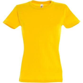Vêtements Femme T-shirts manches courtes Sols Imperial Jaune