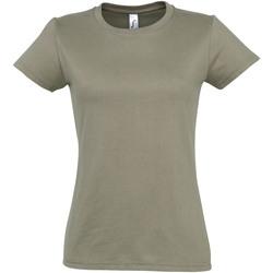 Vêtements Femme T-shirts manches courtes Sols Imperial Kaki