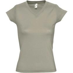 Vêtements Femme T-shirts manches courtes Sols Moon Kaki