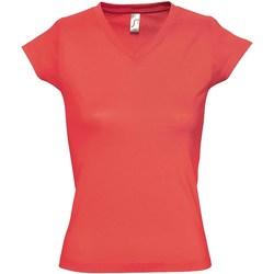 Vêtements Femme T-shirts manches courtes Sols Moon Corail