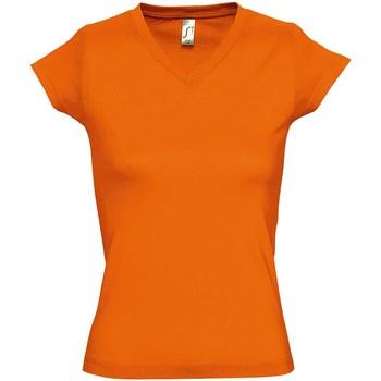Vêtements Femme T-shirts manches courtes Sols Moon Orange