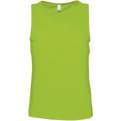 Vêtements Homme Débardeurs / T-shirts sans manche Sols Justin Vert citron