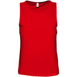 Vêtements Homme Débardeurs / T-shirts sans manche Sols Justin Rouge