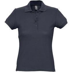 Vêtements Femme Polos manches courtes Sols Pique Bleu marine