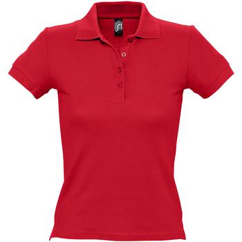 Vêtements Femme Polos manches courtes Sols 11310 Rouge