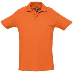 Vêtements Homme Polos manches courtes Sols Spring Orange