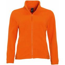 Vêtements Femme Polaires Sols North Orange
