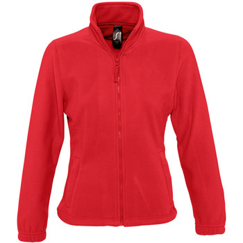 Vêtements Femme Polaires Sols North Rouge