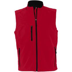 Vêtements Homme Gilets / Cardigans Sols Rallye Rouge
