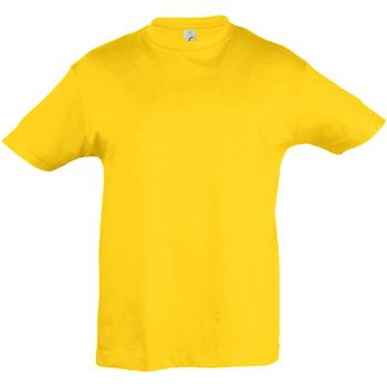 Vêtements Enfant T-shirts manches courtes Sols Regent Jaune