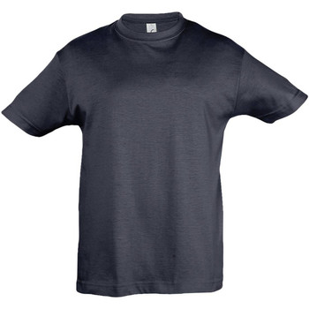 Vêtements Enfant T-shirts manches courtes Sols 11970 Bleu marine foncé