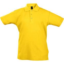 Vêtements Enfant Polos manches courtes Sols Summer II Or