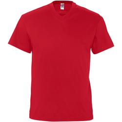 Vêtements Homme T-shirts manches courtes Sols Victory Rouge