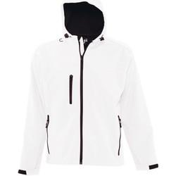 Vêtements Homme Coupes vent Sols 46602 Blanc