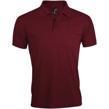 Vêtements Homme Polos manches courtes Sols Prime Bordeaux