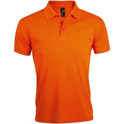 Vêtements Homme Polos manches courtes Sols Prime Orange