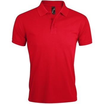 Vêtements Homme Polos manches courtes Sols Prime Rouge