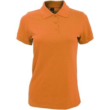 Vêtements Femme Polos manches courtes Sols Prime Orange