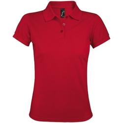 Vêtements Femme Polos manches courtes Sols Prime Rouge