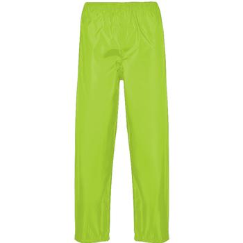 Vêtements Homme Pantalons de survêtement Portwest PW167 Jaune