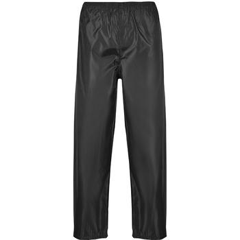 Vêtements Homme Pantalons de survêtement Portwest PW167 Noir