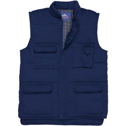 Vêtements Homme Gilets / Cardigans Portwest Shetland Bleu marine