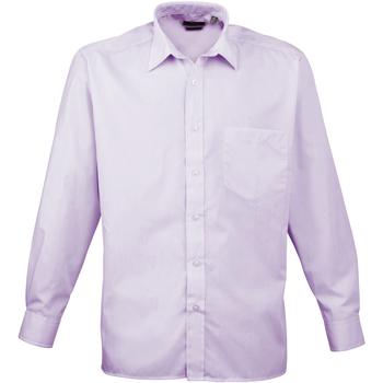 Vêtements Homme Chemises manches longues Premier PR200 Lilas