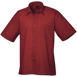 Vêtements Homme Chemises manches courtes Premier PR202 Bordeaux