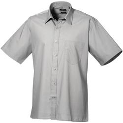 Vêtements Homme Chemises manches courtes Premier PR202 Argent