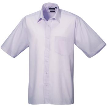 Vêtements Homme Chemises manches courtes Premier Poplin Lilas