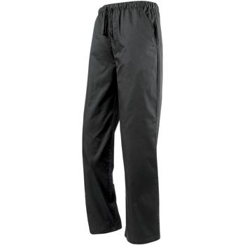 Vêtements Pantalons de survêtement Premier Work Noir