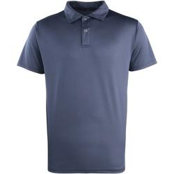 Vêtements Polos manches courtes Premier PR612 Bleu marine