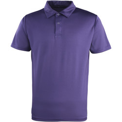 Vêtements Polos manches courtes Premier PR612 Pourpre