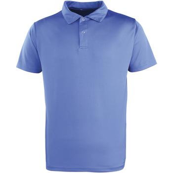 Vêtements Polos manches courtes Premier PR612 Bleu roi