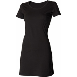 Vêtements Femme Robes courtes Skinni Fit Scoop Neck Noir