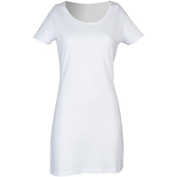 Vêtements Femme Robes courtes Skinni Fit Scoop Neck Blanc