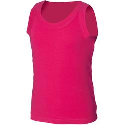 Vêtements Enfant Débardeurs / T-shirts sans manche Skinni Fit SM016 Fuchsia