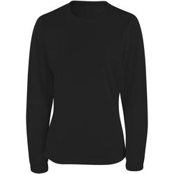 Vêtements Femme T-shirts manches longues Spiro Performance Noir