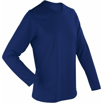 Vêtements Femme T-shirts manches longues Spiro Performance Bleu marine