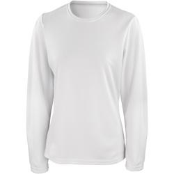 Vêtements Femme T-shirts manches longues Spiro Performance Blanc