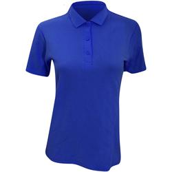 Vêtements Femme Polos manches courtes Anvil Pique Bleu roi