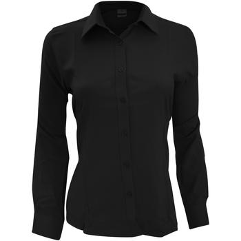 Vêtements Femme Chemises / Chemisiers Henbury Wicking Noir