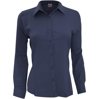 Vêtements Femme Chemises / Chemisiers Henbury Wicking Bleu marine