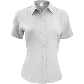 Vêtements Homme Chemises manches courtes Henbury HB596 Blanc